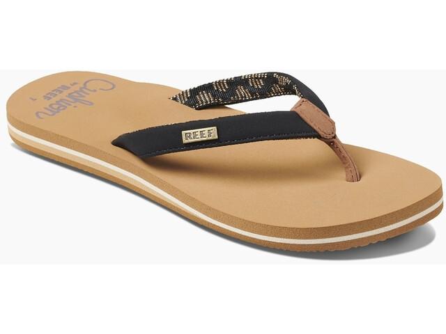 Reef Cushion Sands Sandals Girls, black/tan
